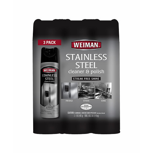 Stainless Steel Cleaner, 3 pk./17 oz.