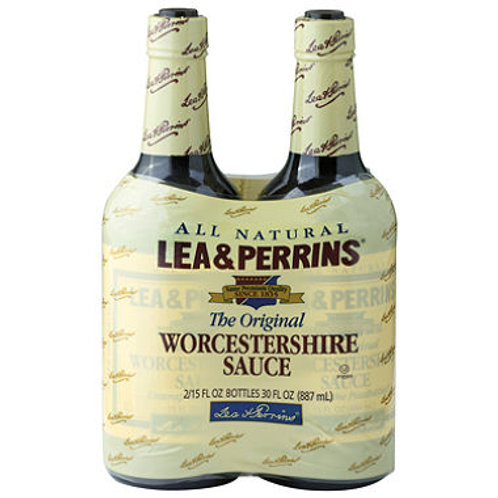 Worcestershire Sauce 15 oz. bottle, 2 pk