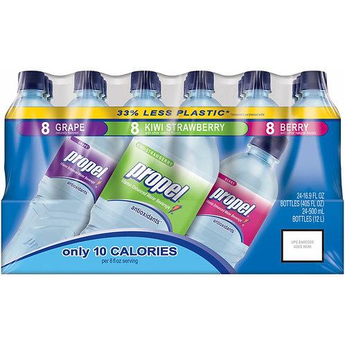 Propel Zero Water Variety - 24/16.9 oz