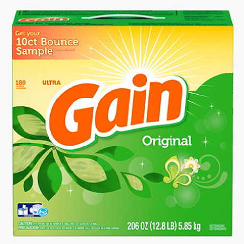 Gain Ultra Powder Laundry Detergent - Original 206 oz. - 180 loads