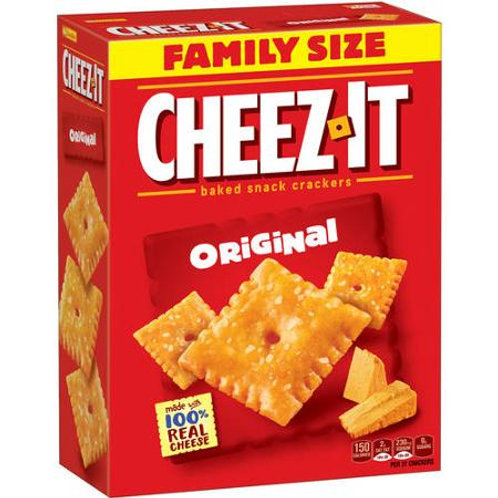 Cheez-It Baked Snack Crackers, 21 oz