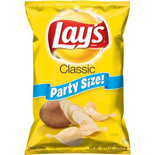 Lay's Classic Potato Chips, 15.5 oz