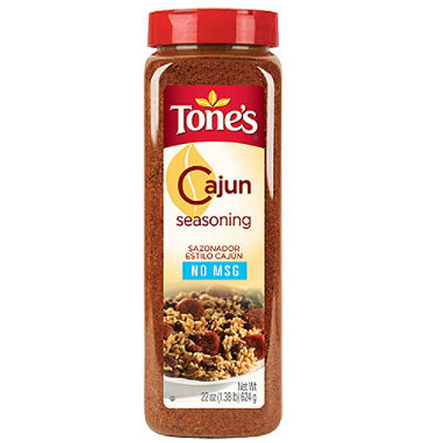 Tone's® Cajun Seasoning - 22 oz. shaker