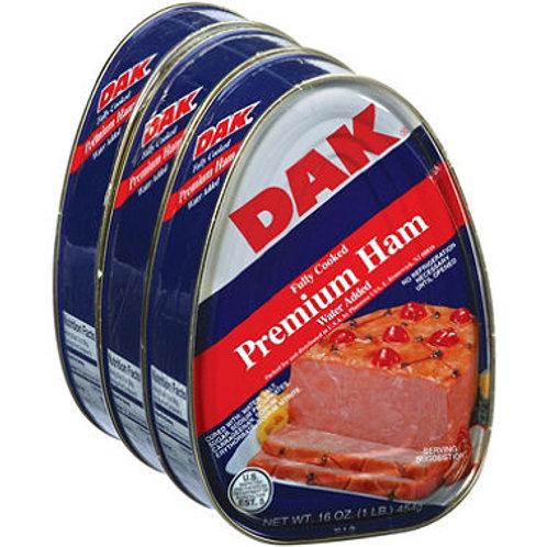 Dak Canned Ham 16 oz. can, 3 ct.