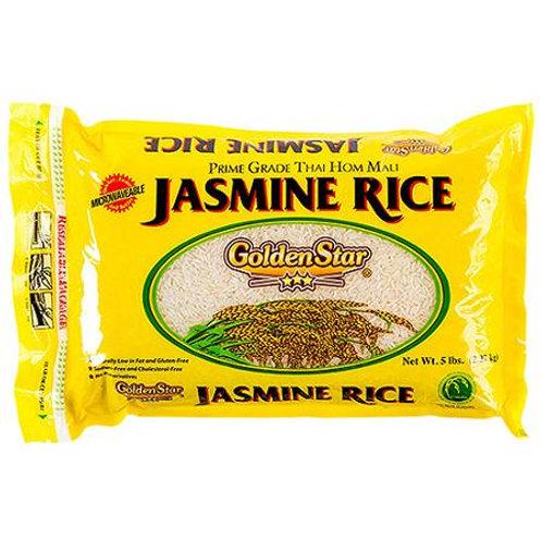 Prime Grade Long Grain Fragrant Jasmine Rice, 5 Lb