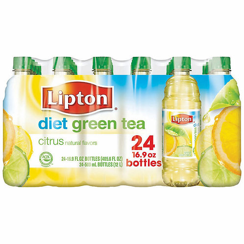 Lipton Diet Green Tea with Citrus 16.9 oz. bottl