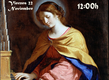 Celebramos Santa Cecilia, patrona de los músicos.