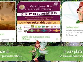 Le week-end du bois et des forêts d'Ardenne!  15 au 18 octobre 2015