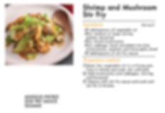 # recipeサイト SESAME_Shrimp and Mushroom S