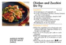 # recipeサイト GARLIC_Chicken and Zucchini