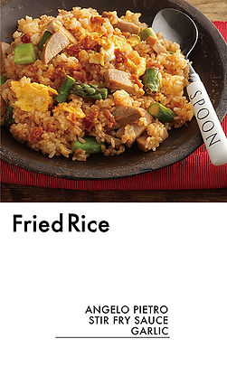 # recipeサイト GARLIC_Fried Rice_アートボード 1
