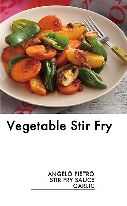 # recipeサイト GARLIC_Vegetable Stir Fry_アー