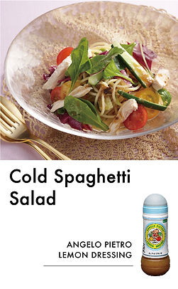 # recipeサイト LEMON_Cold Spaghetti Salad_ア