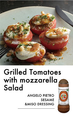 # recipeサイト Sesame_Grilled Tomatoes with