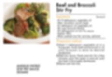 # recipeサイト SESAME_Beef and Broccoli Sti