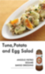 # recipeサイト Sesame_Tuna,potao and egg sa