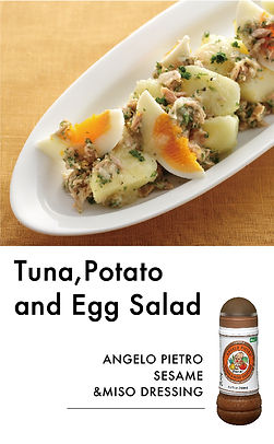 # recipeサイト Sesame_Tuna,potao and egg sa