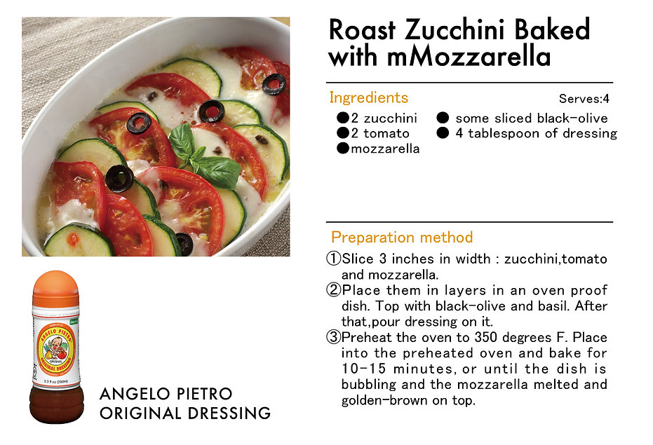# recipeサイト DS_Roast zucchini baked with