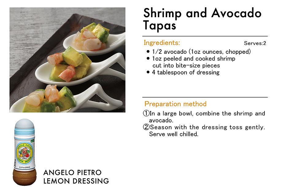 # recipeサイト LEMON_Lemon_Shrimp and Avoca