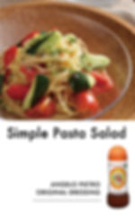 # recipeサイト DS_Simple Pasta Salad_アートボード