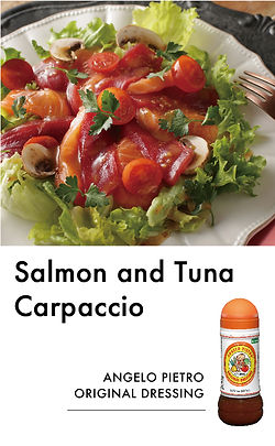 # recipeサイト DS_Salmon and Tuna Carpaccio
