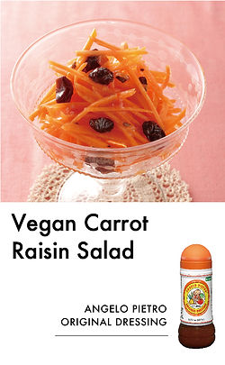 # recipeサイト DS_Vegan Carrot Raisin Salad