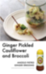 # recipeサイト Ginger_Ginger pickled caulif