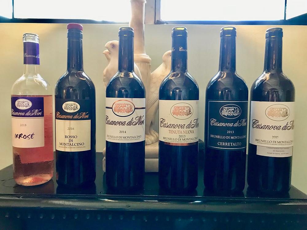 Top Tuscany Wines 2015