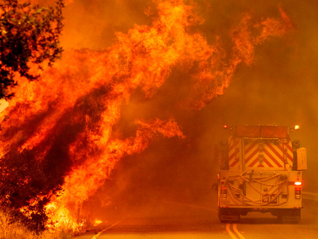 The fire that almost wiped out Napa