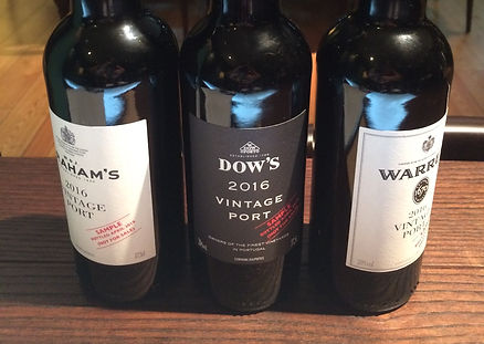Points on Wine - Top 2016 Vinage and Ruby Port