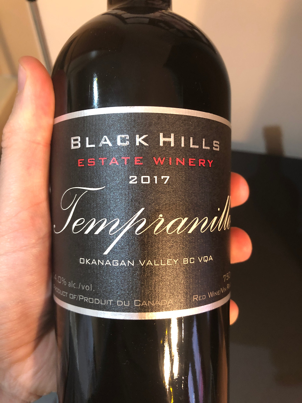 My favorite Tempranillo this year, and it's not even from Spain!