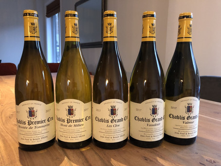 The pure expression of Chardonnay - Chablis - What is there not to love?