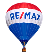 real remax balloon no background bright.