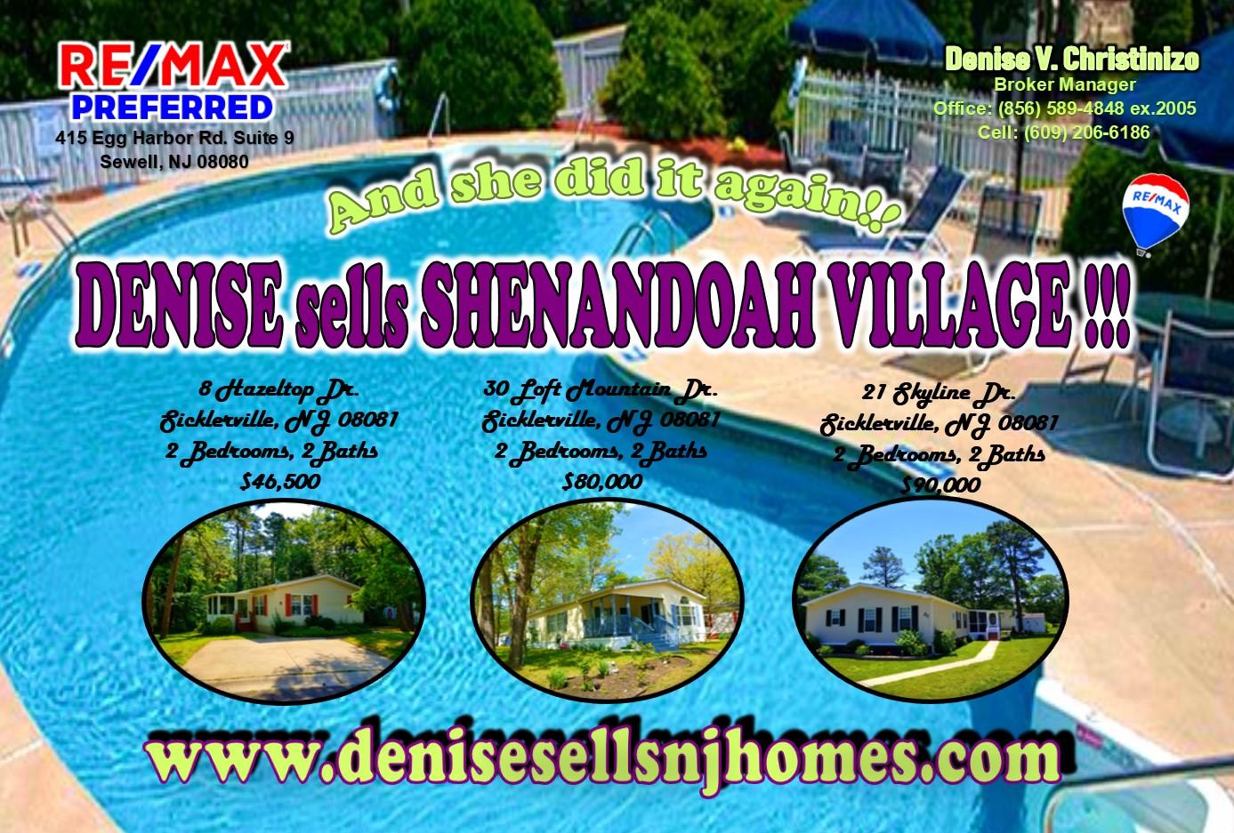 shenandoah post card