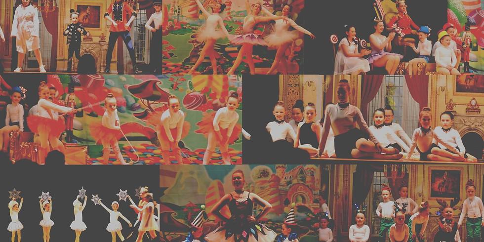 TUES: Nutcracker Rehearsals (see times)