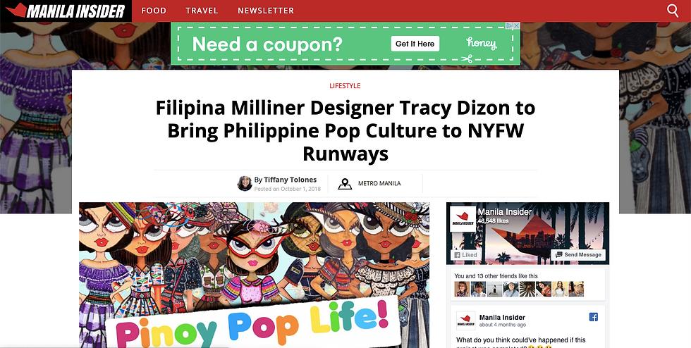 Tracy Dizon Manila Insider