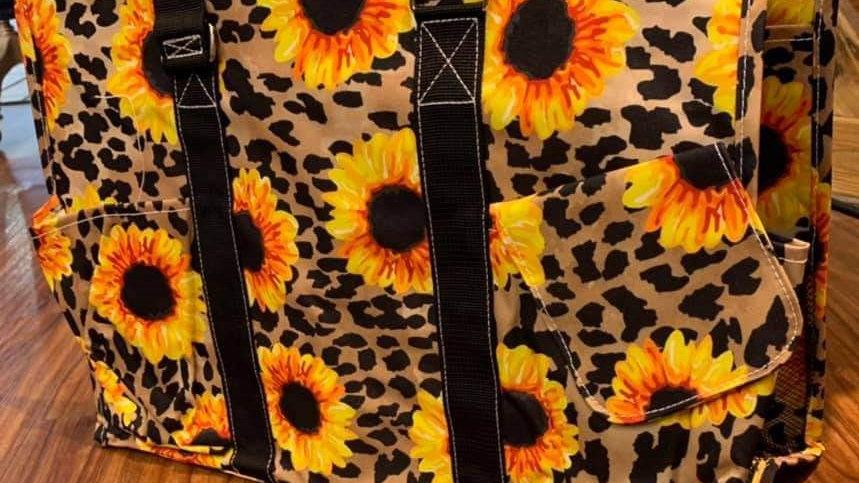 Sunflower print Tote