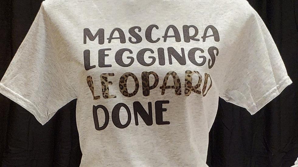 Mascara Leggings Leopard Done