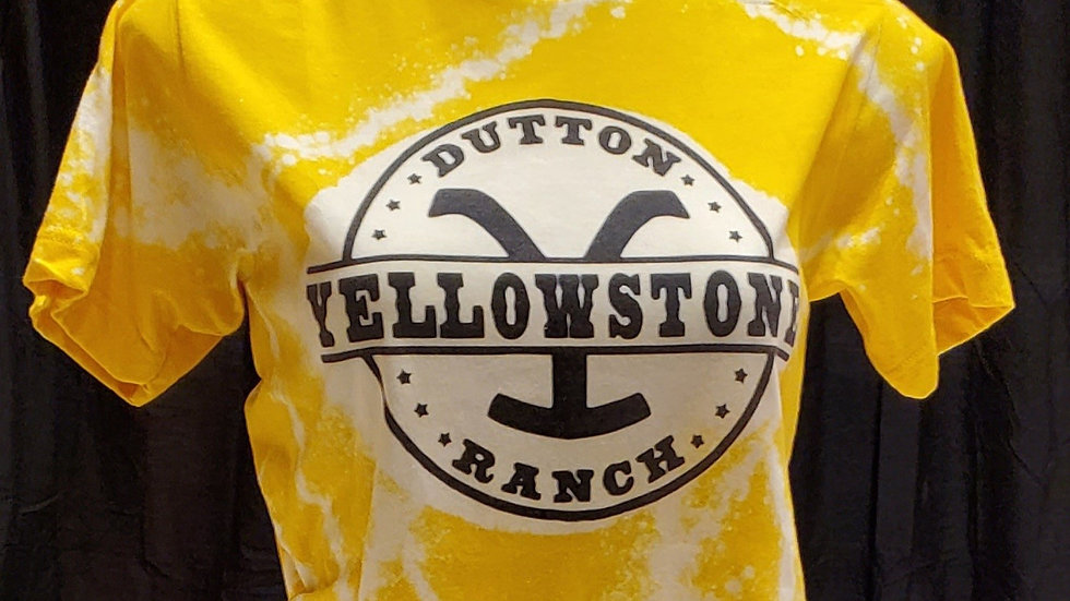 Yellowstone Pre-Shrunk T-Shirt