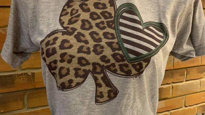 Cheetah Shamrock T-Shirt
