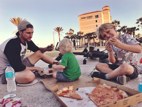 Pizza in the park