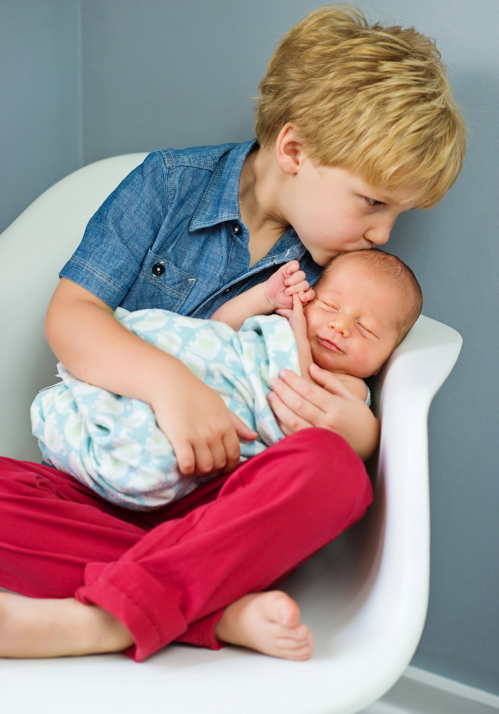 Newborn Tiny and little man