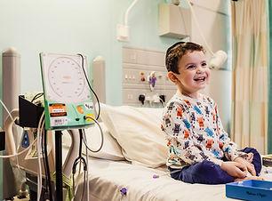 Rafael at Great Ormond Street Hospital