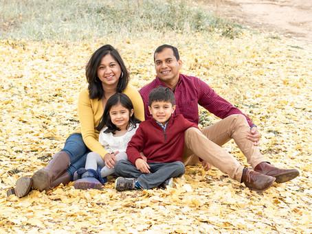 National Arboretum Fall Family Session | Washington D.C. | Gopinath Family