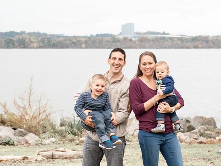 Old Town Alexandria Family Session | Strbich Family