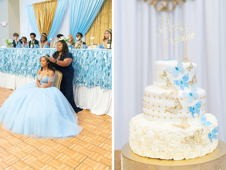Elegant Quinceanera at the The Royal Banquet and Event Center | Burke Lake Park