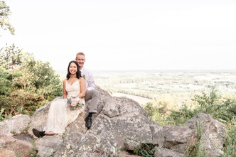 Sugarloaf Mountain Elopement in Urbana Maryland
