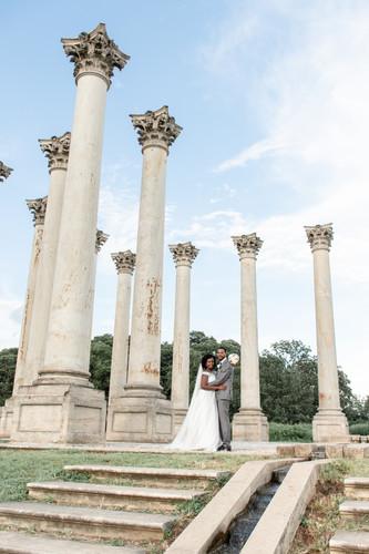 National Arboretum wedding photography 4