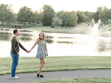 Whittier Lake Park Engagement Session | Frederick, Maryland | Adrianna + Connor