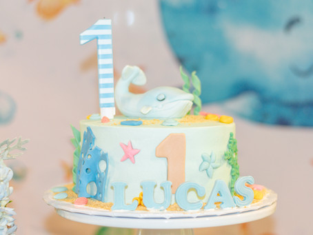Under The Sea 1st Birthday Party | Northern Virginia